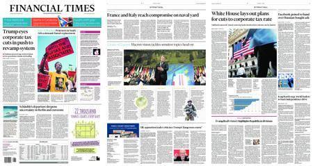 Financial Times USA – September 28, 2017