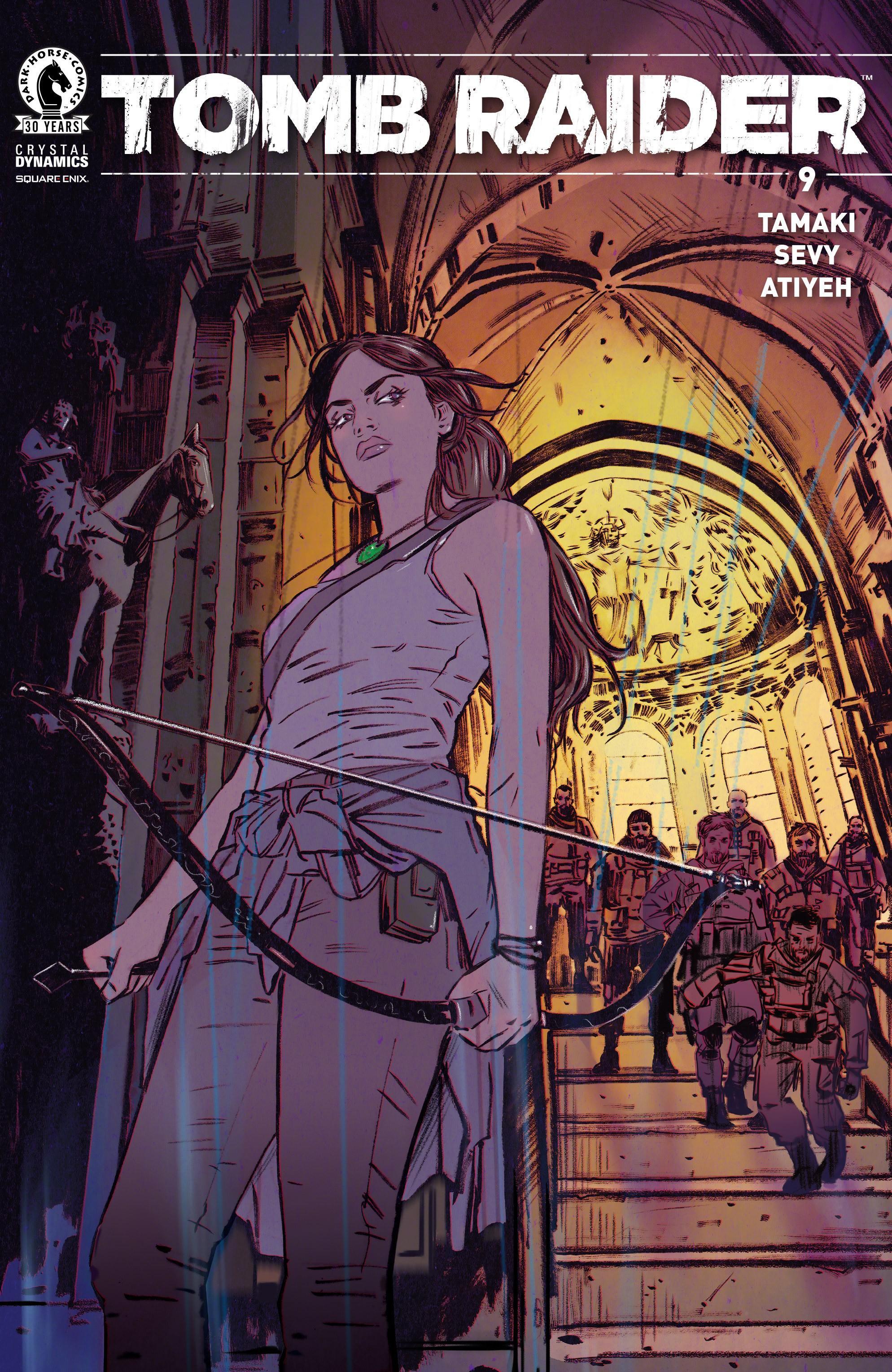 Tomb Raider 009 2016 digital The Magicians