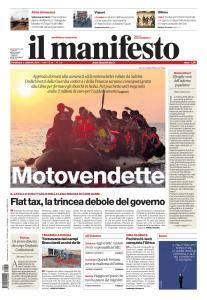 il Manifesto - 5 Agosto 2018