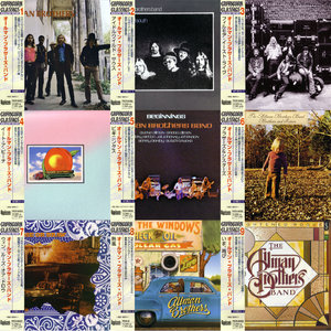 The Allman Brothers Band - At Fillmore East Promo Box: 9 Albums 1969-1979 (1998) Japanese 9 CD Box Set [Re-Up]