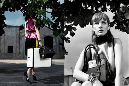 Jessica Chastain by Willy Vanderperre for Prada Resort 2017