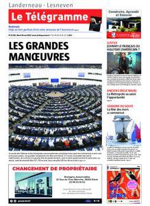 Le Télégramme Landerneau - Lesneven – 28 mai 2019