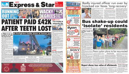 Express and Star City Edition – August 13, 2019