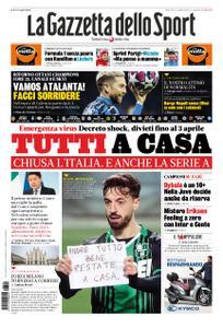 La Gazzetta dello Sport – 10 marzo 2020