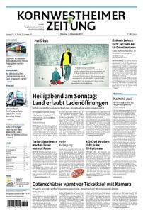 Kornwestheimer Zeitung - 07. November 2017
