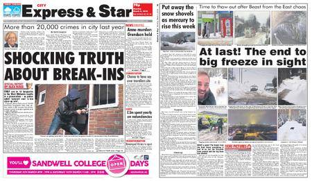 Express and Star City Edition – March 05, 2018