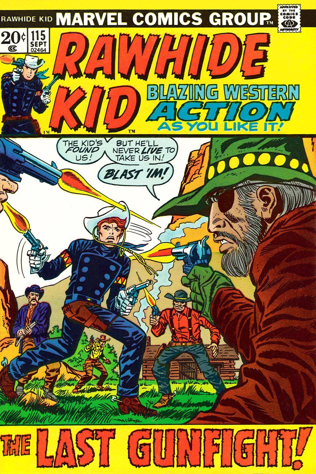 Rawhide Kid v1 115 1973 brigus