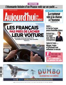 Aujourd'hui en France du Mercredi 27 Mars 2019