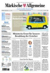 Märkische Allgemeine Luckenwalder Rundschau - 27. März 2018