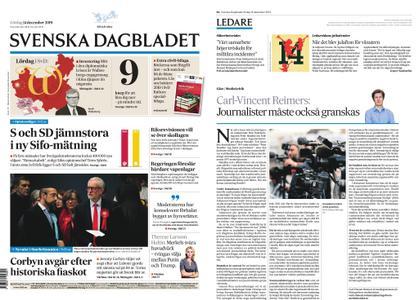 Svenska Dagbladet – 14 december 2019