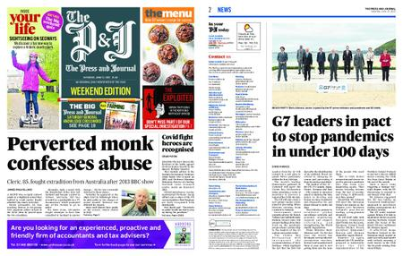 The Press and Journal Moray – June 12, 2021