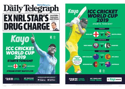 The Daily Telegraph (Sydney) – May 30, 2019