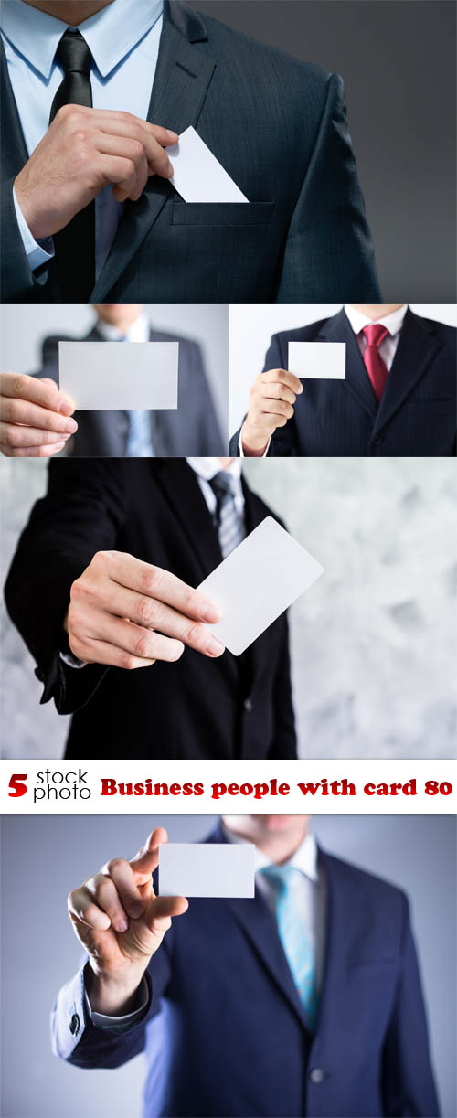 Photos - Business people with card 80