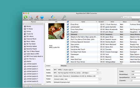 AppleMacSoft DRM Converter 5.3.3 Mac OS X