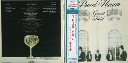 Procol Harum - Grand Hotel (1973) [Victor VICP-64104, Japan]
