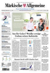 Neue Oranienburger Zeitung - 09. August 2018