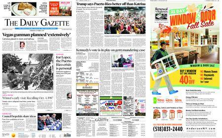 The Daily Gazette – October 04, 2017