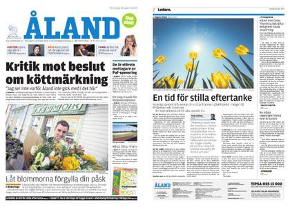 Ålandstidningen – 18 april 2019