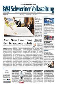 Schweriner Volkszeitung Hagenower Kreisblatt - 06. November 2019