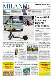 Corriere della Sera Milano – 17 agosto 2019