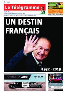 Le Télégramme Brest – 27 septembre 2019
