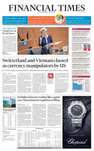Financial Times Middle East - December 17, 2020