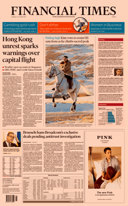 Financial Times Europe – 17 October 2019