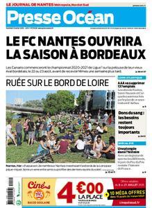 Presse Océan Nantes Sud Vignoble – 10 juillet 2020