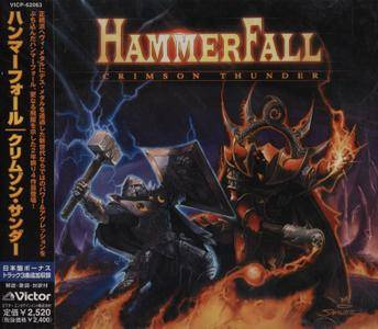 HammerFall - Crimson Thunder (2002) [Japanese Edition]