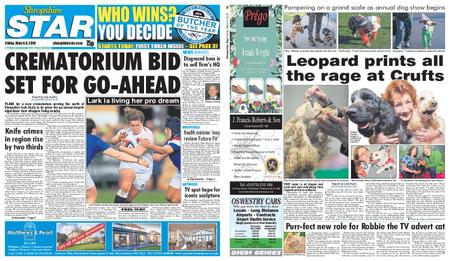 Shropshire Star Shrewsbury Edition – March 08, 2019