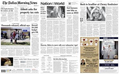 The Dallas Morning News – September 23, 2021