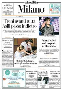 la Repubblica Milano - 10 Agosto 2020