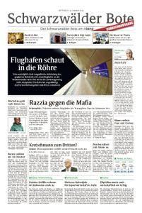 Schwarzwälder Bote Hechingen - 10. Januar 2018