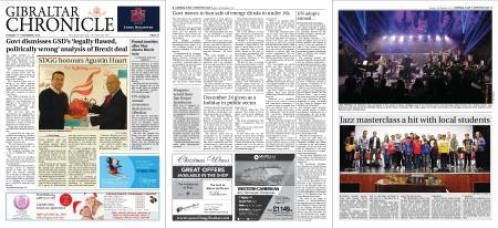 Gibraltar Chronicle – 11 December 2018