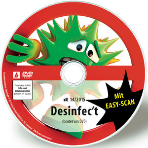 Desinfec't 2015 CT Magazin 2015 14 DVD