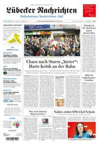 Lübecker Nachrichten Ostholstein Süd - 07. Oktober 2017