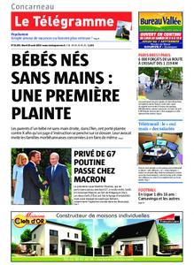 Le Télégramme Concarneau – 20 août 2019