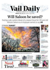 Vail Daily – October 25, 2021