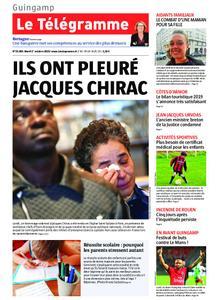 Le Télégramme Guingamp – 01 octobre 2019