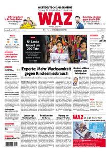 WAZ Westdeutsche Allgemeine Zeitung Oberhausen-Sterkrade - 23. April 2019