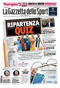 La Gazzetta dello Sport Roma – 15 settembre 2018