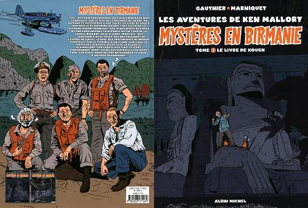 Les Aventures de Ken Mallory - Mystères en Birmanie - Tome 1 - Le Livre de Koush
