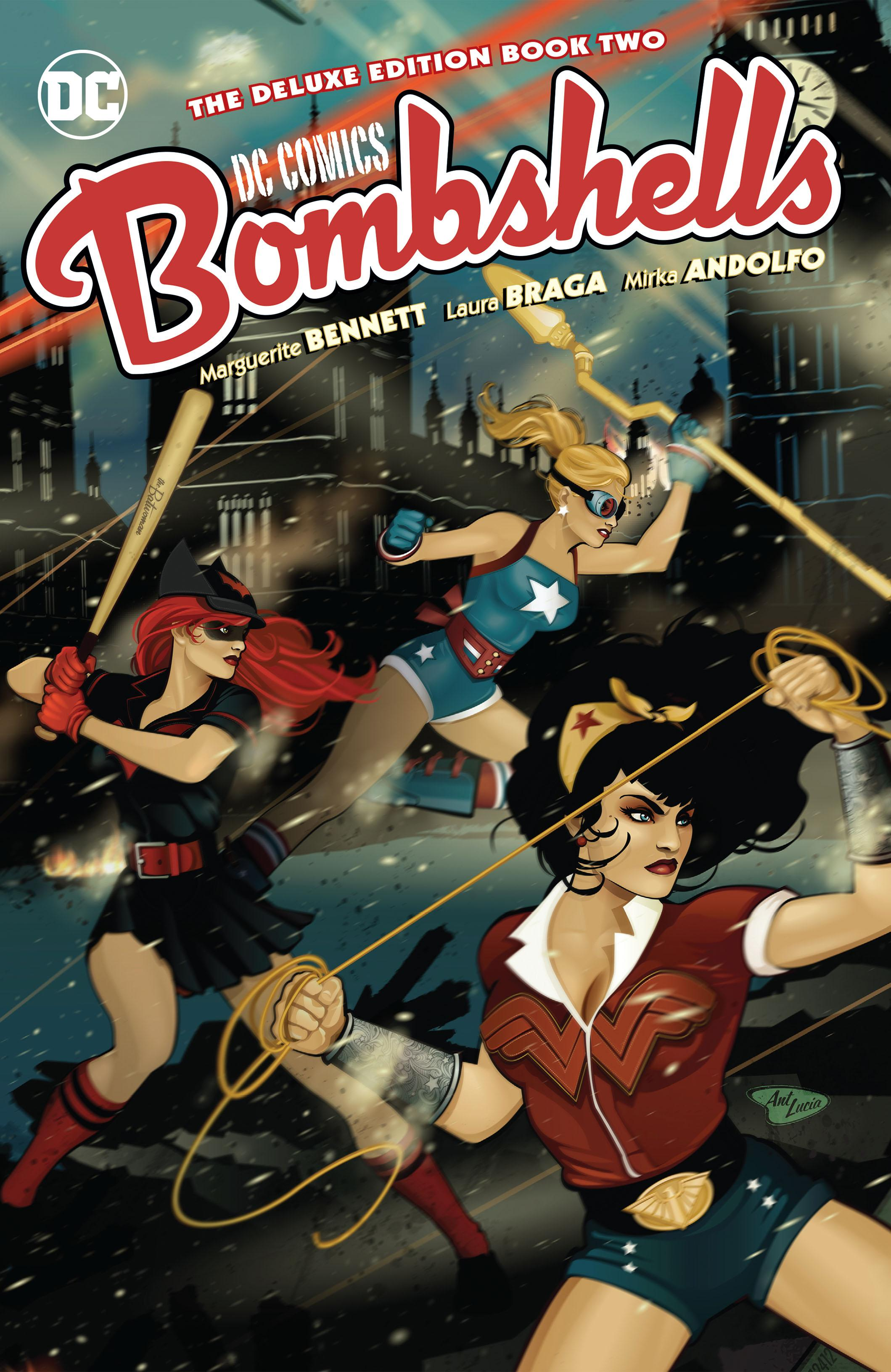 DC Comics-Bombshells The Deluxe Edition Book 02 2019 digital Son of Ultron