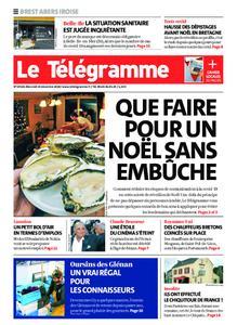 Le Télégramme Brest Abers Iroise – 23 décembre 2020