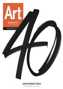 Art Monthly - October 2016   No 400