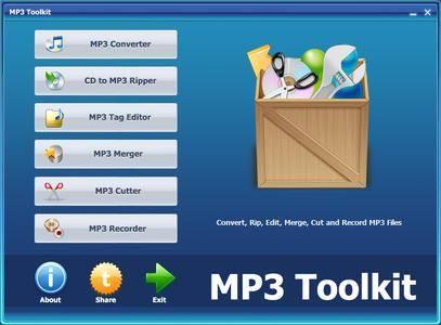 MP3 Toolkit 1.6.0
