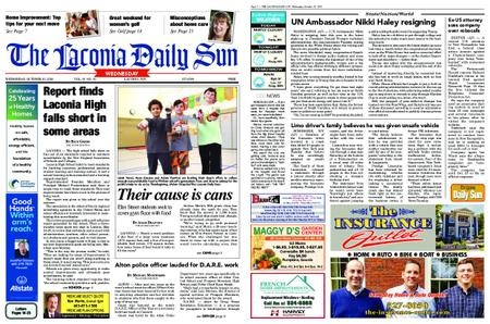The Laconia Daily Sun – October 10, 2018