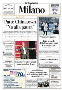 la Repubblica Milano - 1 Febbraio 2020