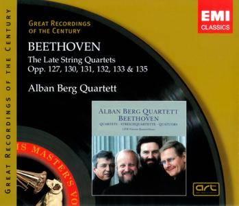 Alban Berg Quartett - Beethoven: The Late String Quartets Opp. 127, 130-133 & 135 (1989) (3CD Box Set)