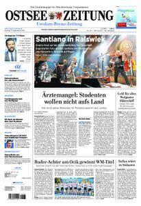 Ostsee Zeitung Wolgast - 17. September 2018